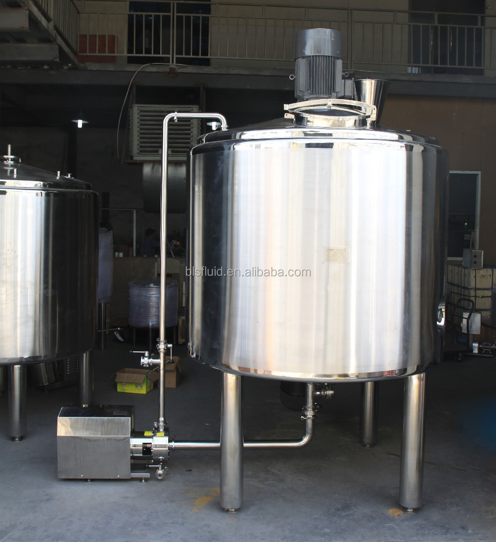 Food and Beverage Industry Mixing Tank Beverage High Pressure Mixing Machine Price