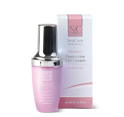 SeaCare Dead Sea Rejuvenating Anti-Wrinkle Protective Eye Cream with Coenzyme Q10 and A & E Vitamins