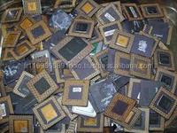 Intel Pentium Pro Ceramic Cpu Processor Scrap With Gold Pins