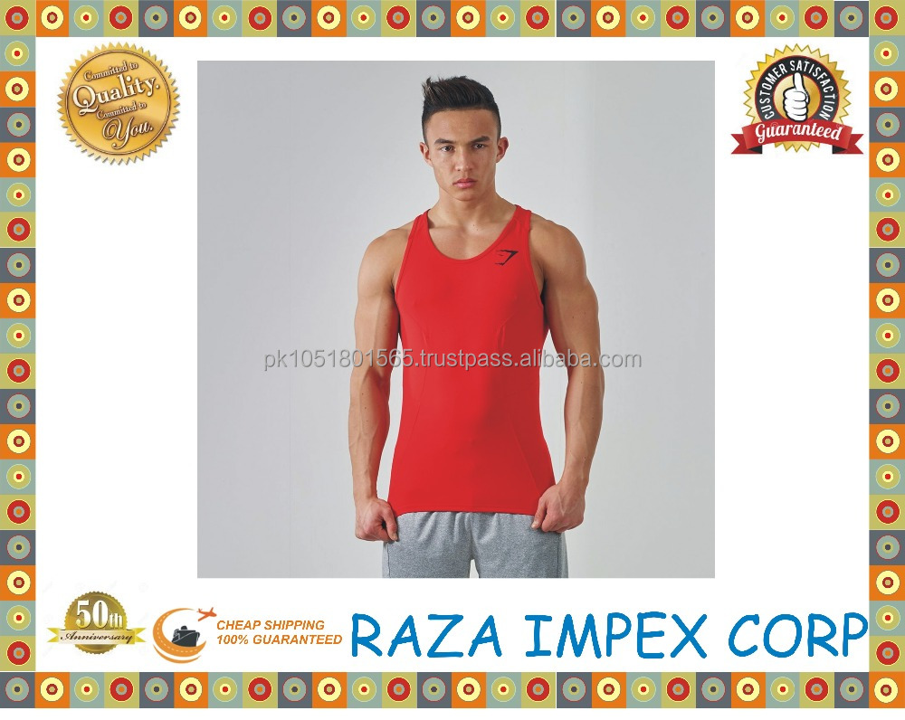 Bulk buy clothing from pakistan custom hot selling longline t shirt scoop hem herringbone vest tank top men