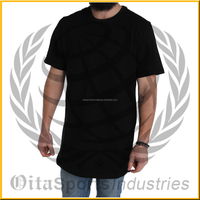 Oversized T-Shirt With Heavy Weight Hem Extender And Wide Neck Trim