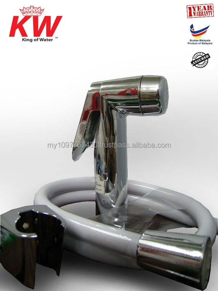 Shower Rinser/ Water Faucet / Rinser Bidets/ Bathroom Sprayer/ Sanitary Ware / Handheld Bidet / Shattaf Bidet Spray (CHROME)