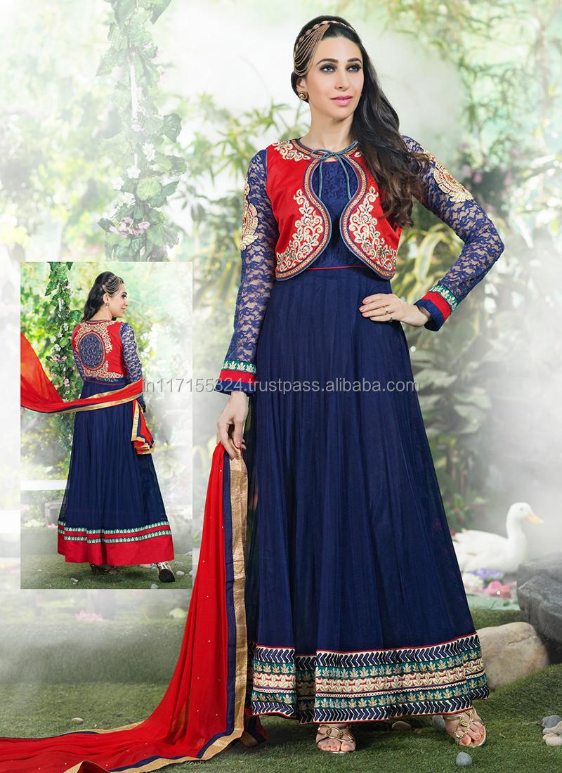 74e7ef28510 Indian Dresses Salwar Kameez Anarkali 2015 | Saddha