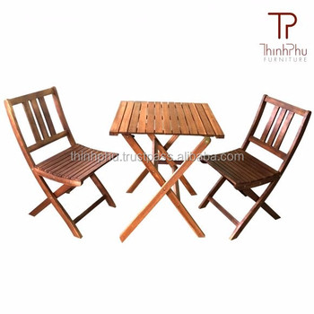 Wood garden set furniture top grade furniture outdoor for Outdoor furniture vietnam