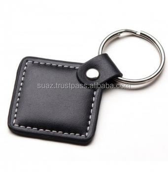 Custom logo high quality leather keychain keyring  93ed0dd12ef8