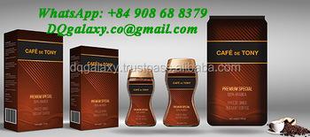 Cafe De Tony - Freeze Dried Instant Coffee - Premium 100% Arabica ...