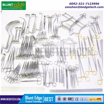 Pakistan Surgical Medical Instruments, Blunt Edge Surgical Technology OEM Manufactures Surgical Instruments