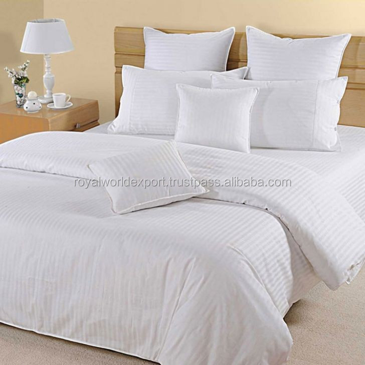 흰색 순수한면 호텔 이불 커버 고급 호텔 침대 시트/ 이불 커버 ...