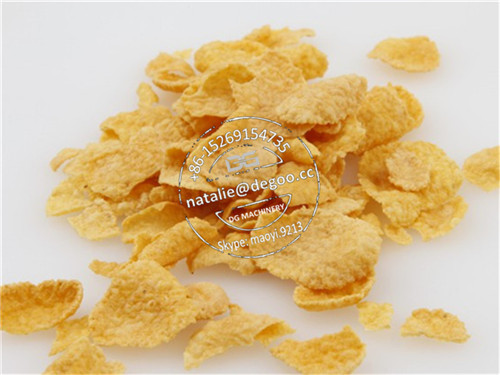 Reliable manufacturer of cereal corn flakes making machine