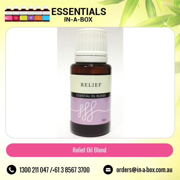 Pure Relief Essential Oil Blends