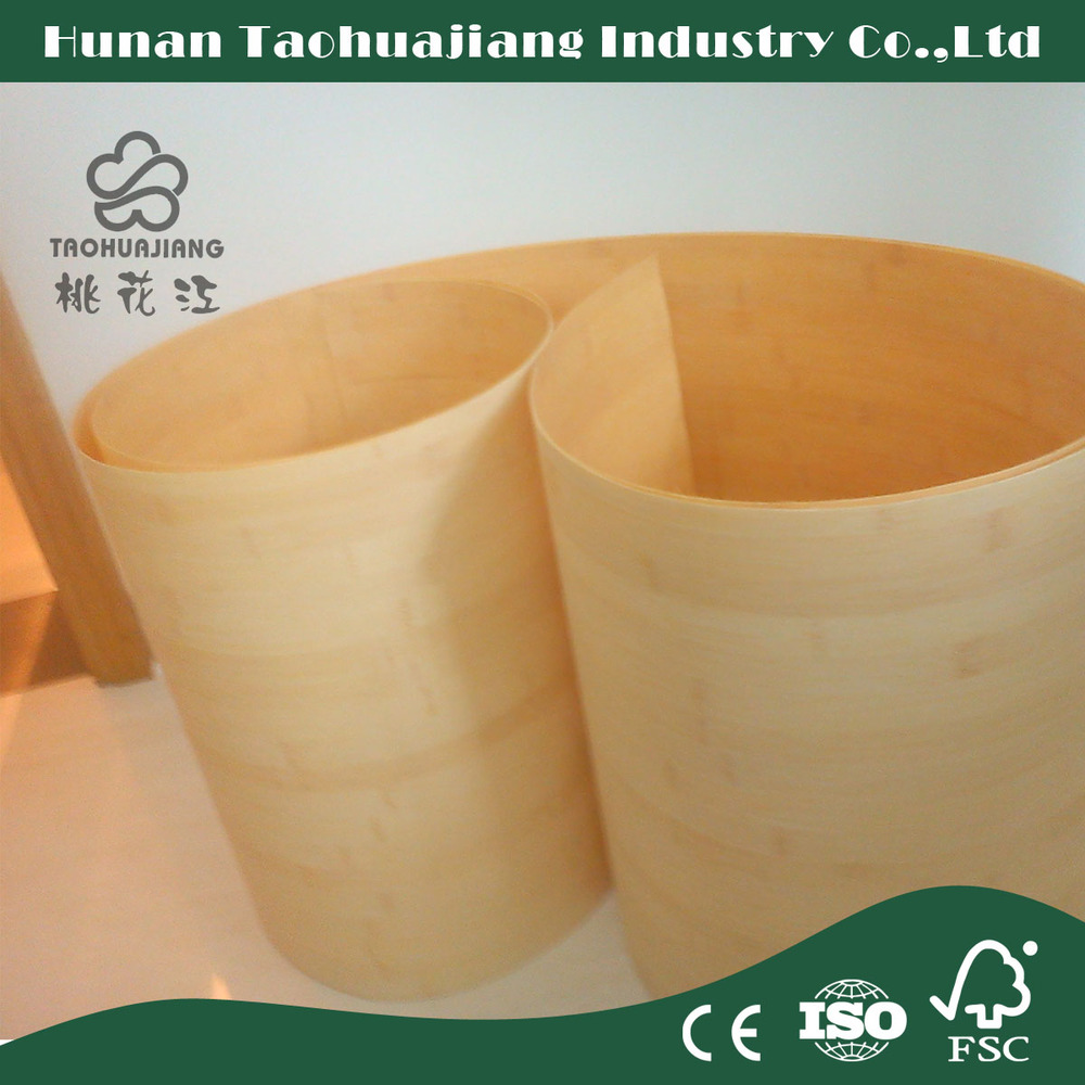 Hot Sale Natural Horizontal Bamboo Veneer For Interior