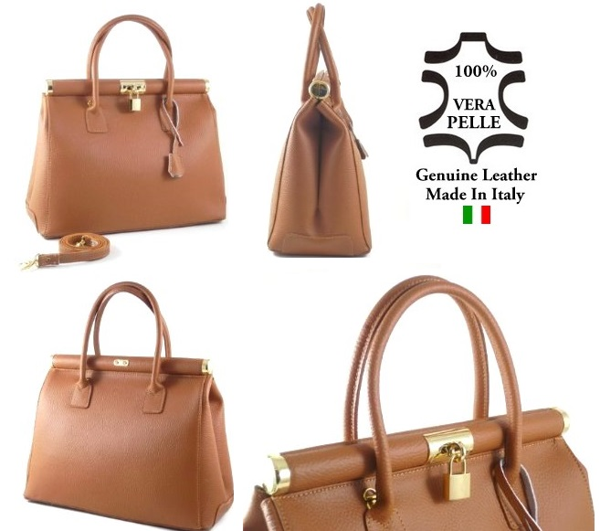 Genuine Leather Bags Handbags Made In Italy 140 Italian Real ...
