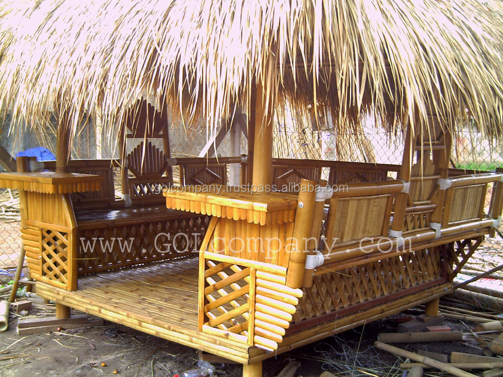 Wholesale bambus gazebo bar bamboo pergola - Muebles de bambu ...
