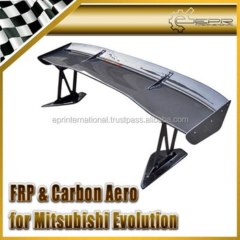 For Mitsubishi Evolution EVO 7 8 9 VLTX Type 5 Cyber EVO GT Wing 1700mm (Street Version Low Stand 290mm)