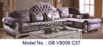 Modern Luxury Living Room Sofa Set