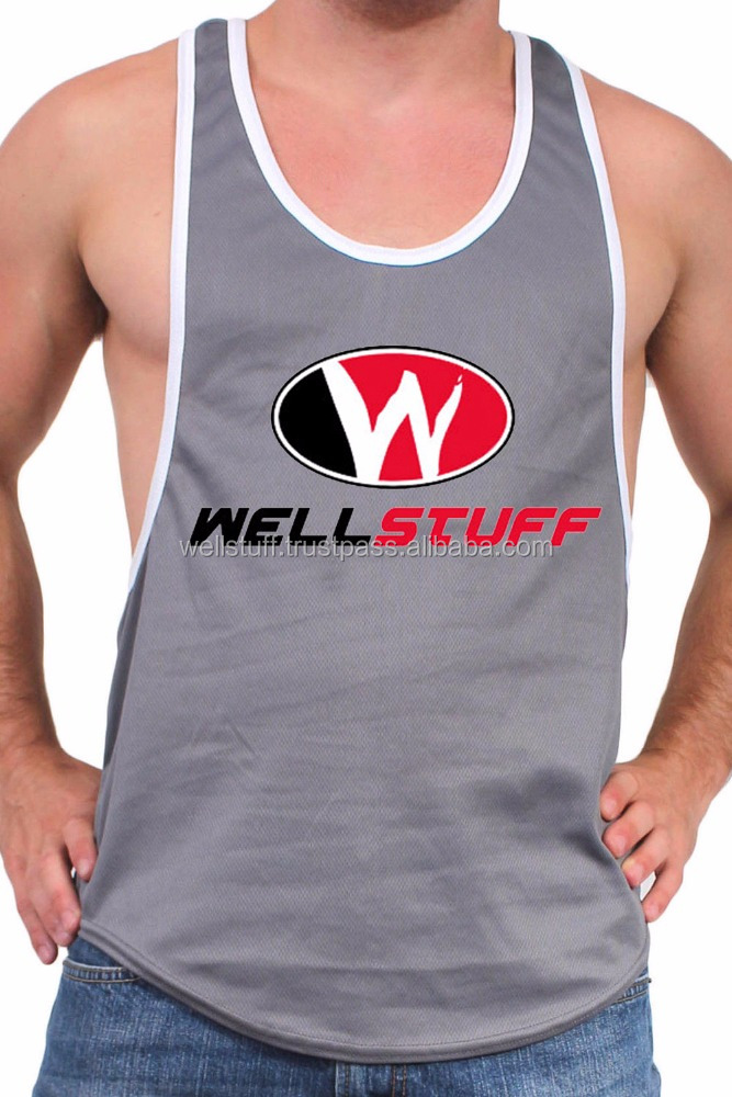 WELL STUFF tank tops for men /Custom Design Tank tops for sale/Perfect for running, yoga, or fitness tank top for men and women