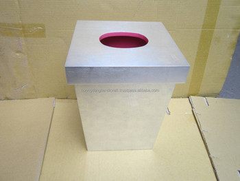 Hotel Room Waste Paper Basket With Price Matching Removable Lid