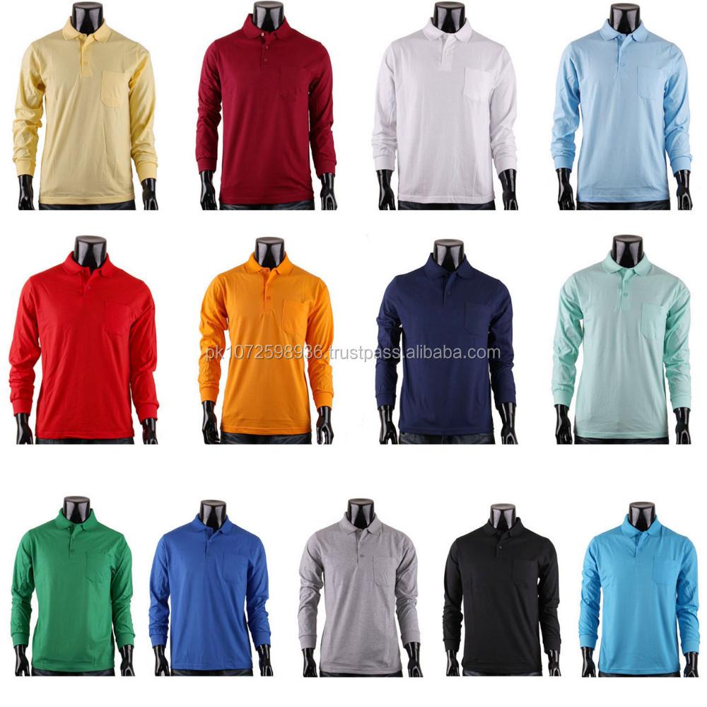 Algodón al por mayor 100% algodón Polo simple diseño personalizado tela  Piqué hombres camiseta del a7ffa5562f657