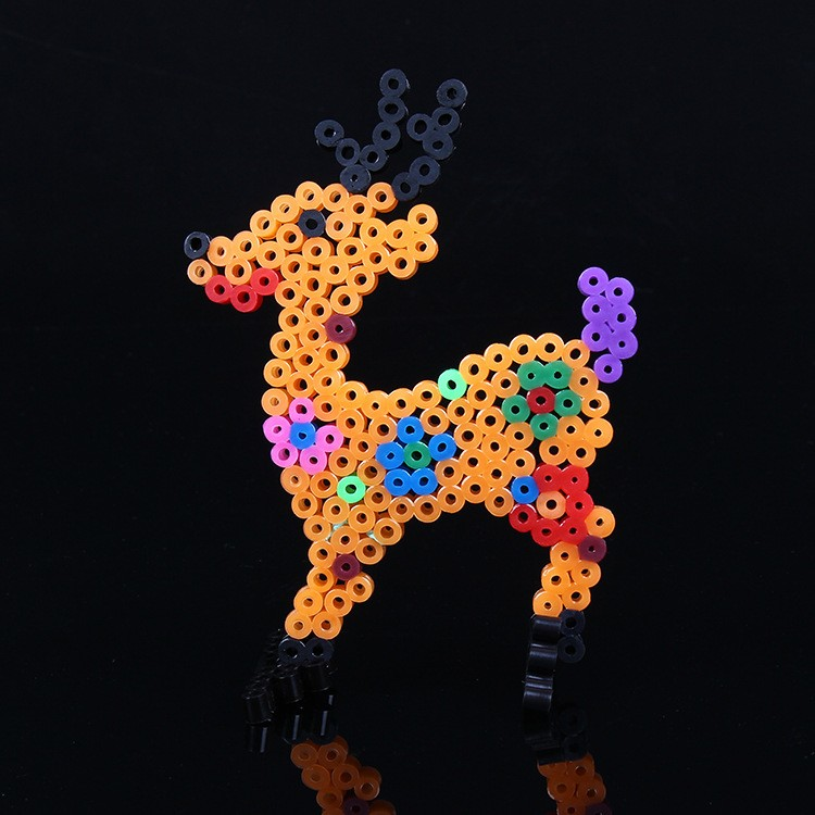 Wholesale Diy Puzzle Game Plastic 5mm Hama Perler Beads ...