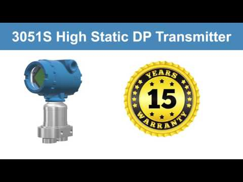 Rosemount 3051S High Pressure Differential Pressure Transmitter - Technical Details and Benefits