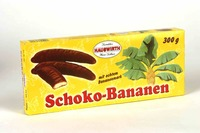 Hauswirth chocolate bananas 300g