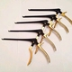 "KERRISON Rongeurs 7"" Black & Gold (1,2,3,4,5,mm UP 45* Orthopedic Surgical Instruments"