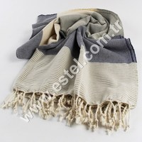 Hisar Towel Peshtemal Turkish Towel Famous for its absorbency and softness, it is perfectly suited for everyday use