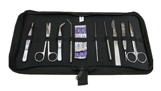 Voodoo Tactical Emergency Surgical Kit w/ Instruments & Sutures - Coyote Brown