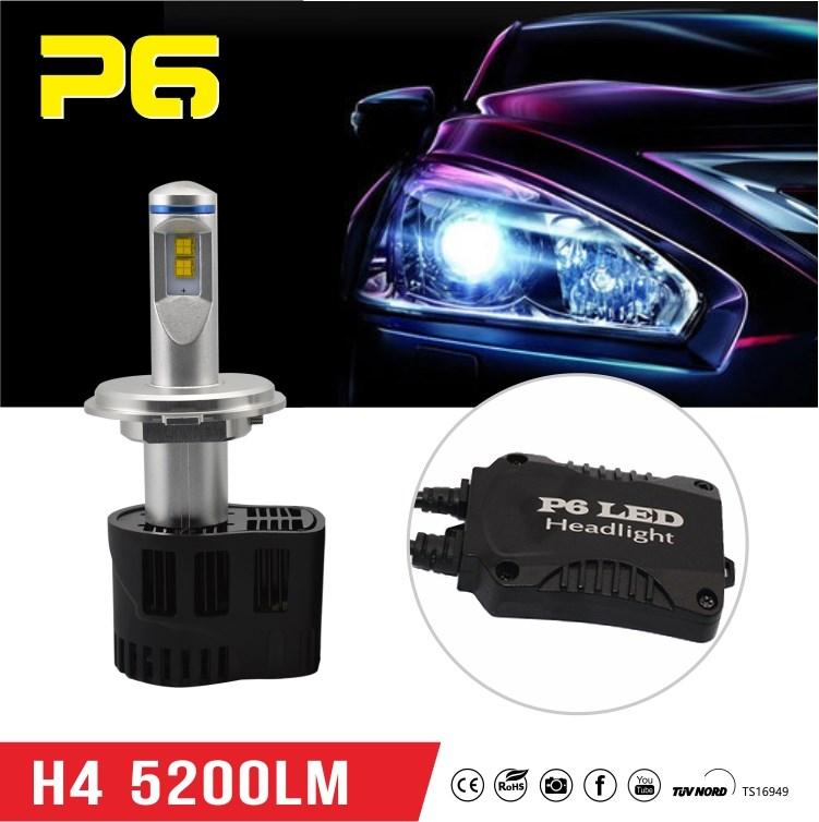 P6 H4 Led Car Headlight Bulbs Smd Led Auto Head Lights H4 High Power