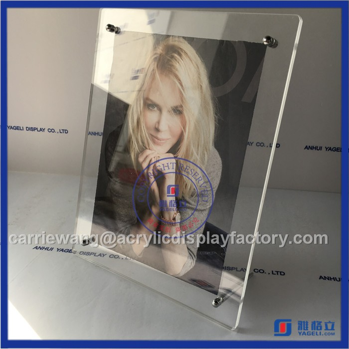 Handmade 4x6 Acrylic Fridge Magnet Photo Frame With Sex Girl ...