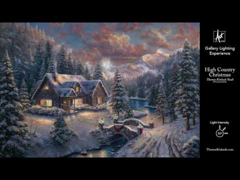 High Country Christmas from the Thomas Kinkade Vault | Gallery Lighting Experience