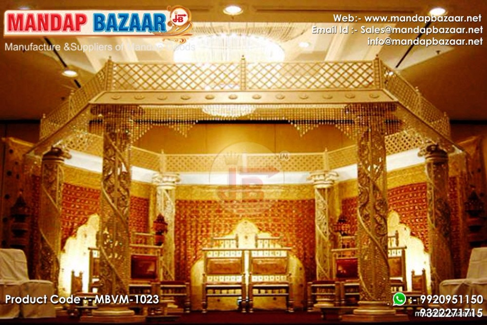 Wedding Reception Stage Decoration Buy Indian Mandap Decoration