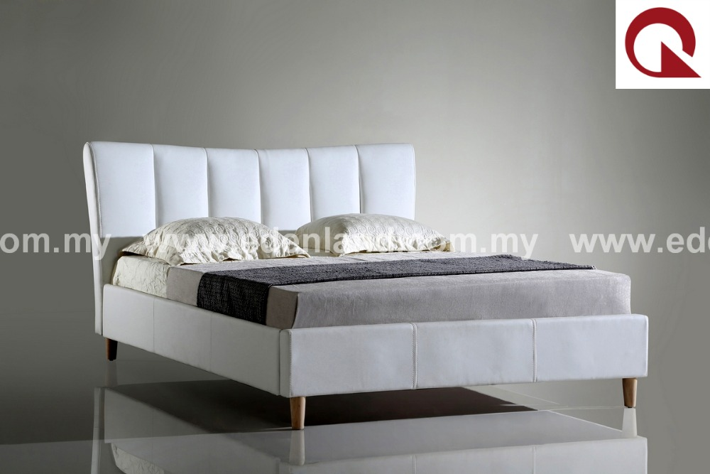 Faux leather PU bed frame bed room furniture BU7195