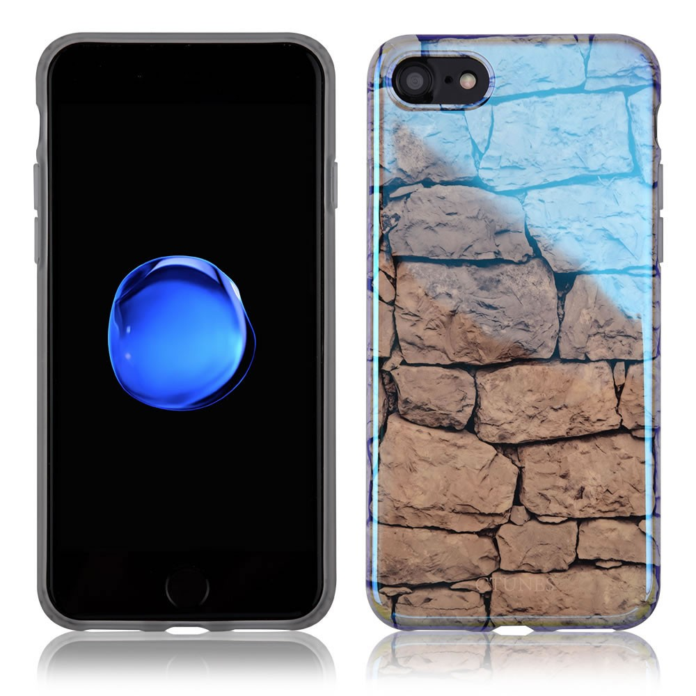 C&T Mirror Effect IMD TPU Gel Flexible Silicone Soft Case Cover for iphone 7 plus
