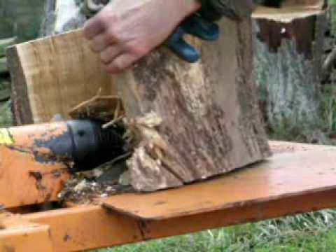 Hydrocut screw log splitter