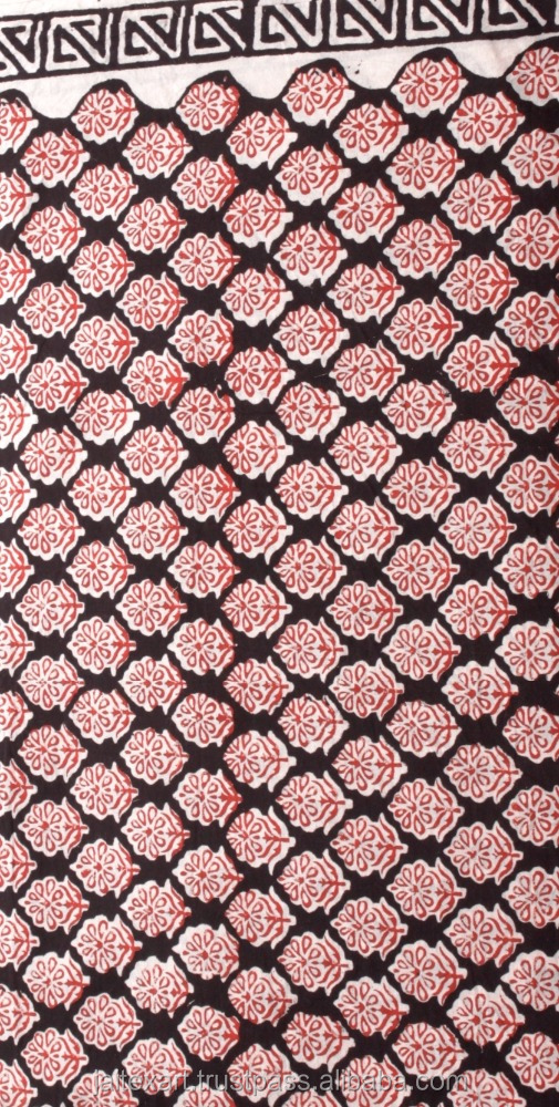 indianHand Block printed fabric