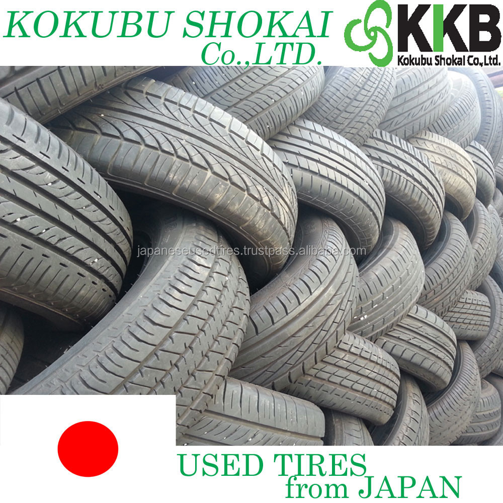 Japanese Reliable container load used tires, used tires with good inspection