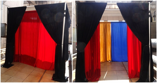 cheap beautiful drape flower systems backdrop fabric wall detail pipe innovative product and drapes price curtain