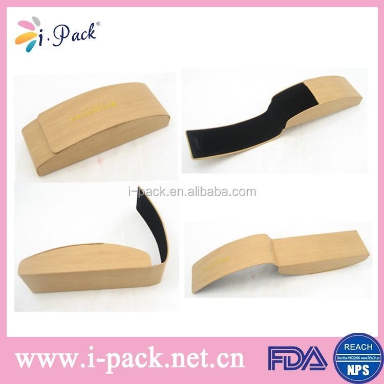 Custom Printed Magnet Wood Optical Spectacle Eyeglass Case With ...