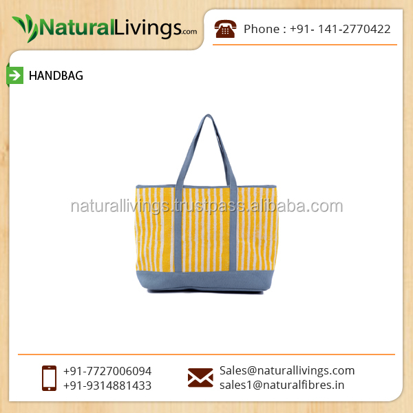 Standard Quality Durable Tote Hand Bag for Women at Wholesale Rate