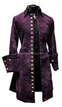 Steampunk Xl Gothic Mantel Für Goth Schrein gothic Samt Jacke Armee Galeone Buy Viktorianischen Pirat Herren E9DeWH2IY