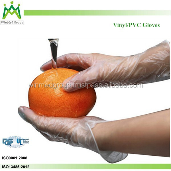 heat resistant gloves for food/PVC Glove for Food Processing