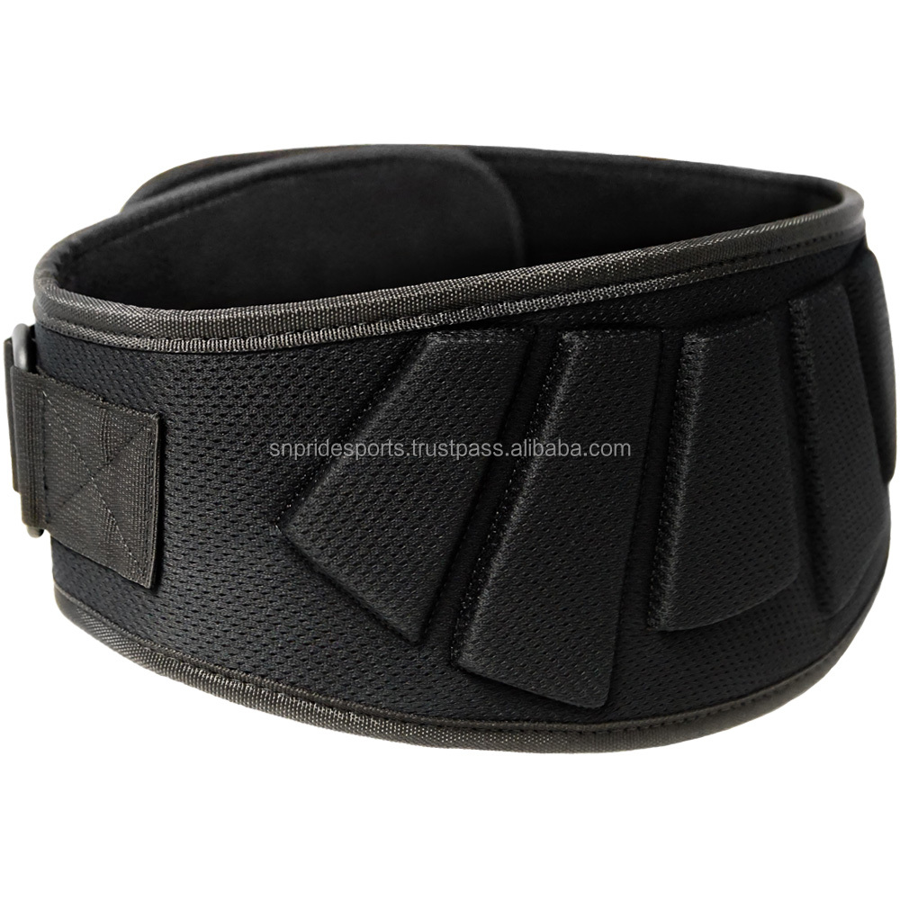 "Weight Lifting Belt with the safety 6"" padding back support"