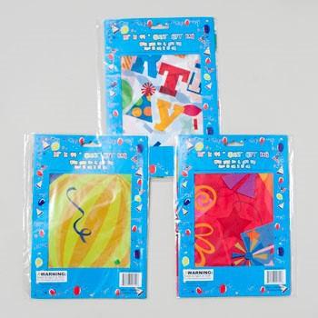 GIFT BAG GIANT BIRTHDAY 3ASST DESIGNS PE PLASTIC 36X44 INCH G24711