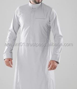 High Quality Men's Thobe And Abaya,Muslim Clothing
