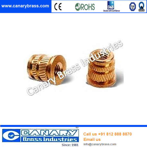 Specializing In The Production Hot Sale Threaded Knurled Brass ...