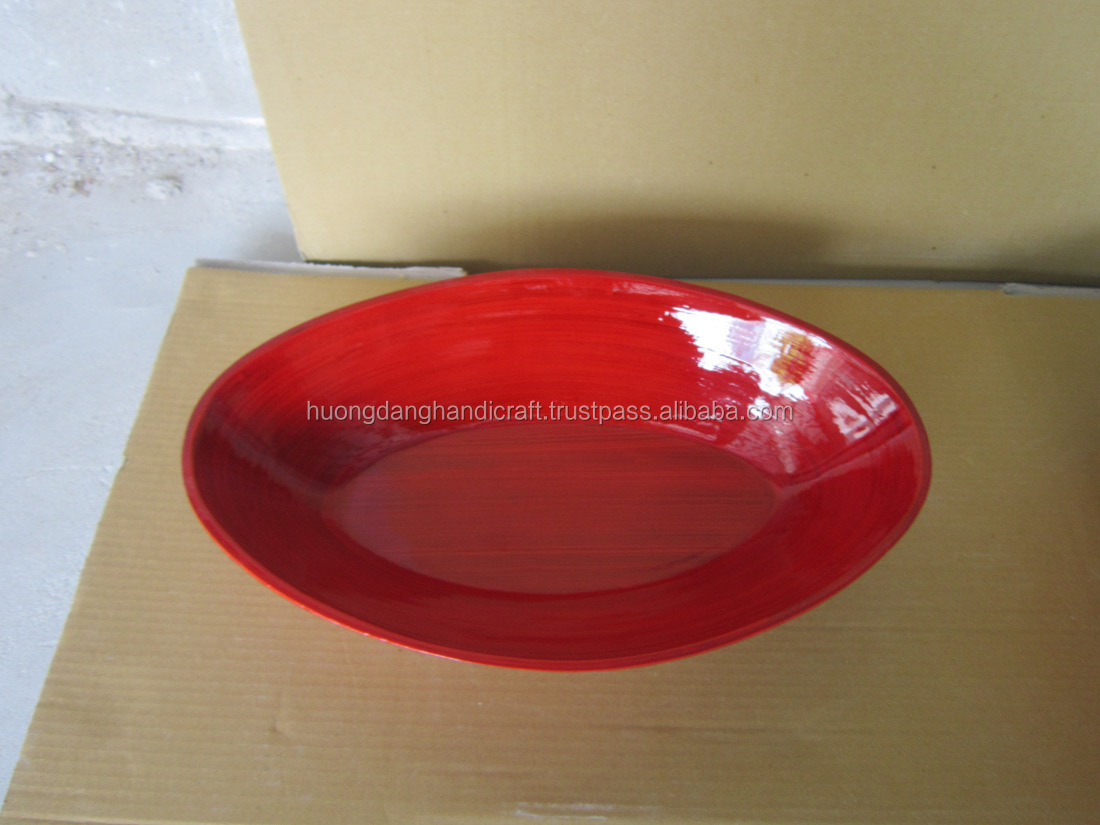 Round bamboo plates lacquer charger plates red lacquer plate wood lacquer plate & Round Bamboo PlatesLacquer Charger PlatesRed Lacquer PlateWood ...