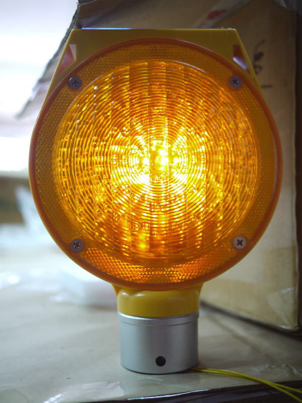 Solar Road Safety Products Strobe Light Barricade Light
