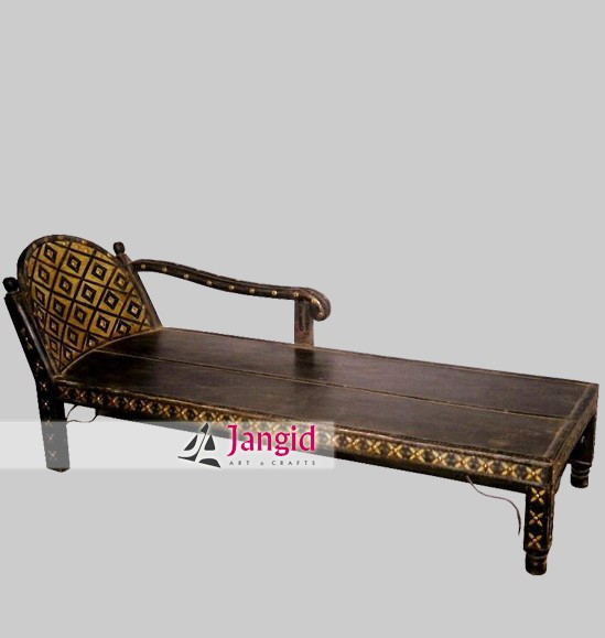 Antique Style Indian Wooden Living Room Sofa Bed Ethnic Furniture Product On Alibaba