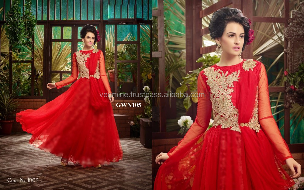 Latest Wedding Gown Latest Gown Designs Ladies Long Evening Party ...
